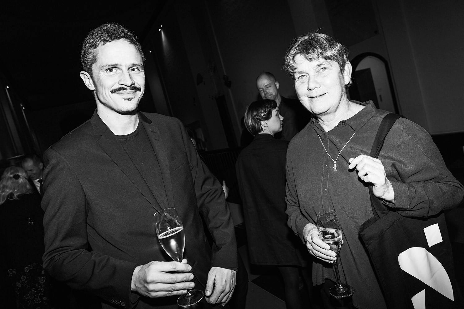 Kalle Sanner & Elsa Modin. Photo: Emma Svensson/Hasselblad Foundation