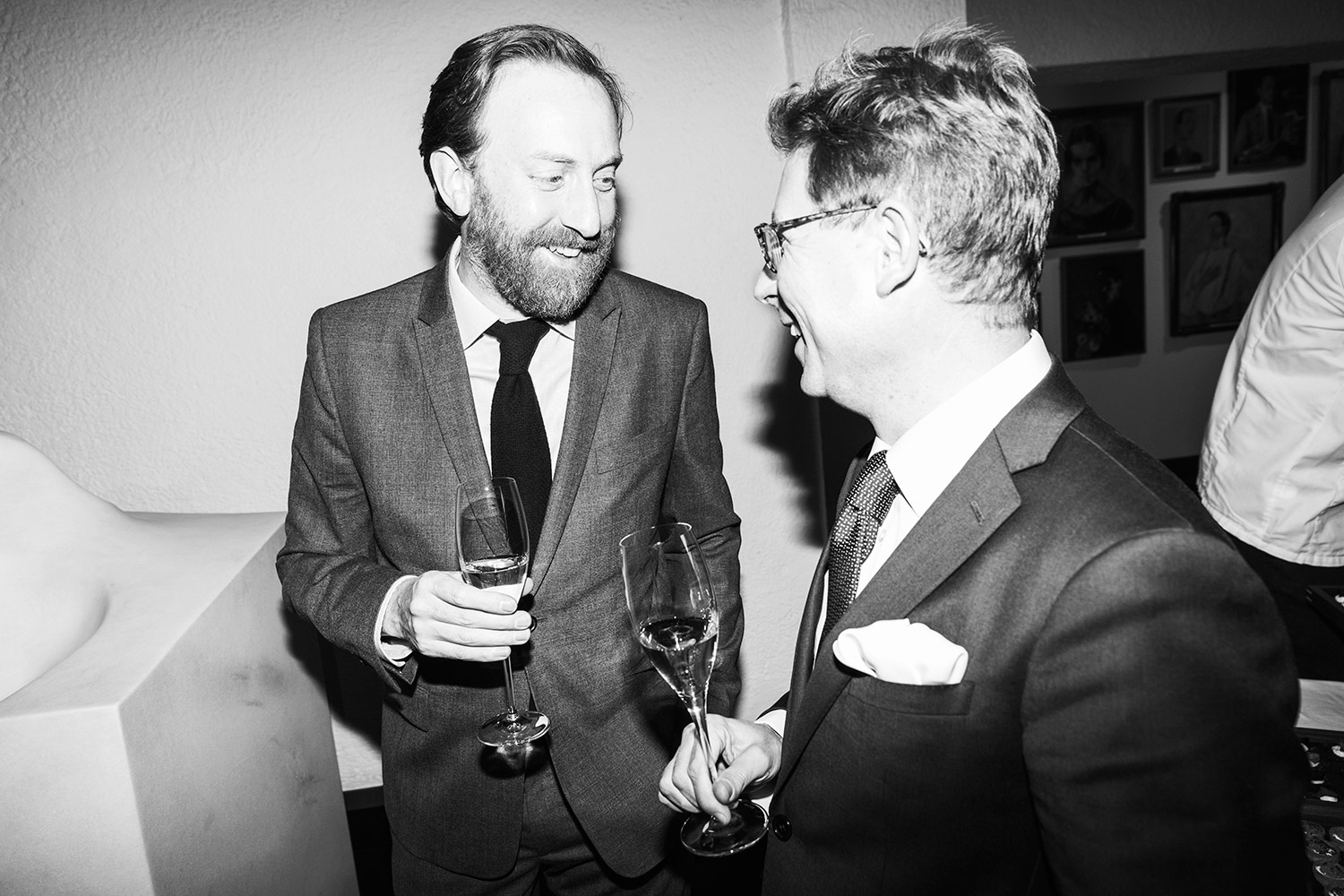 Simon Baker & Niclas Östlind. Photo: Emma Svensson/Hasselblad Foundation
