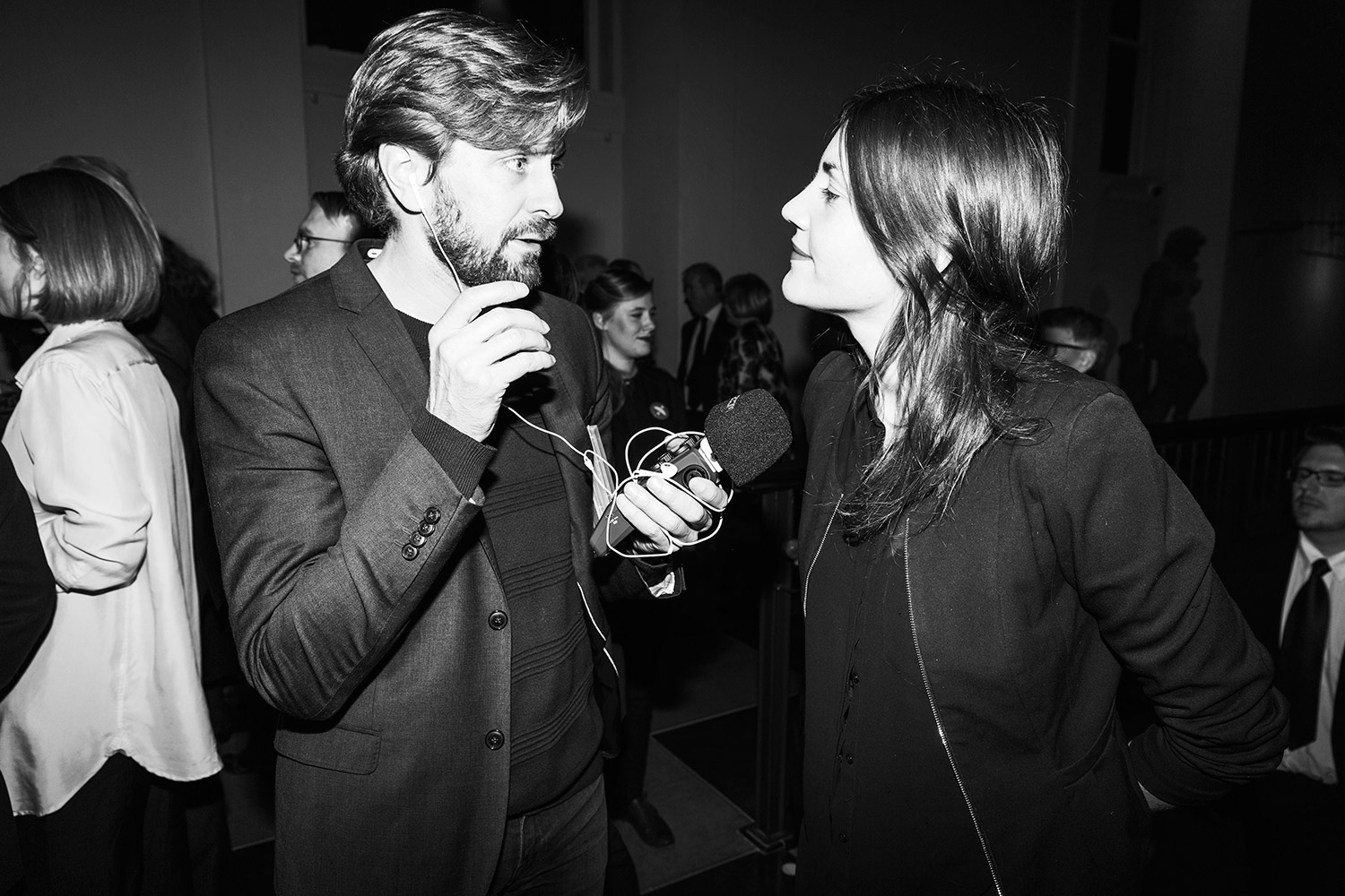 Ruben Östlund & Katja Wik. Photo: Emma Svensson/Hasselblad Foundation