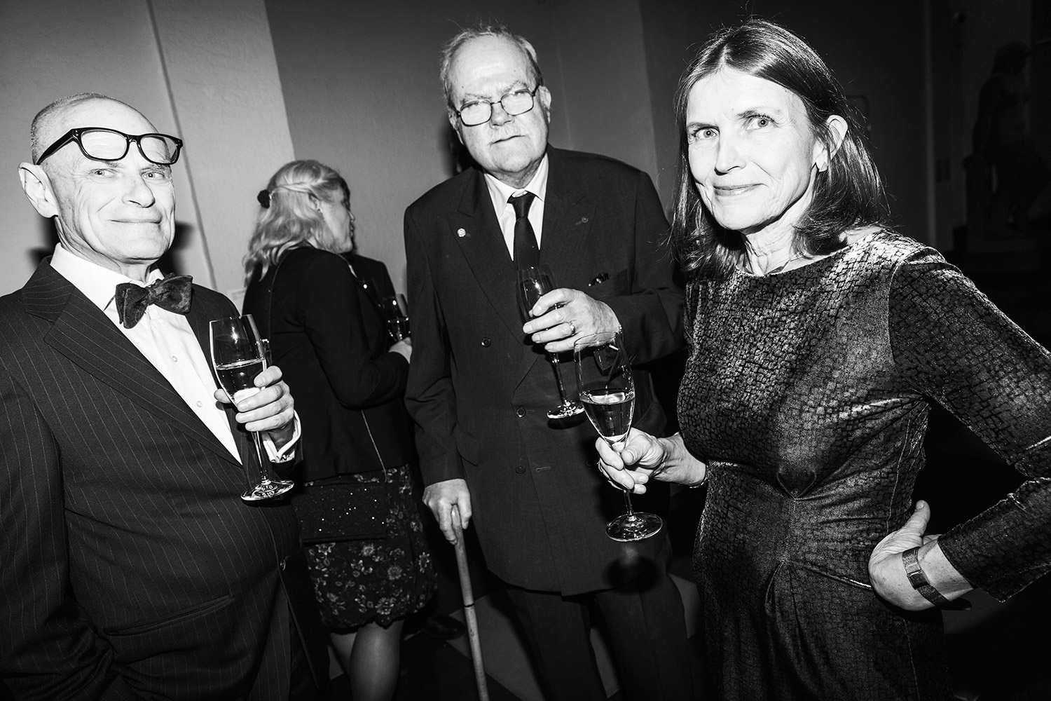 Kenneth Hermele, Tomas Söderberg & Ingrid Elam. Photo: Emma Svensson/Hasselblad Foundation