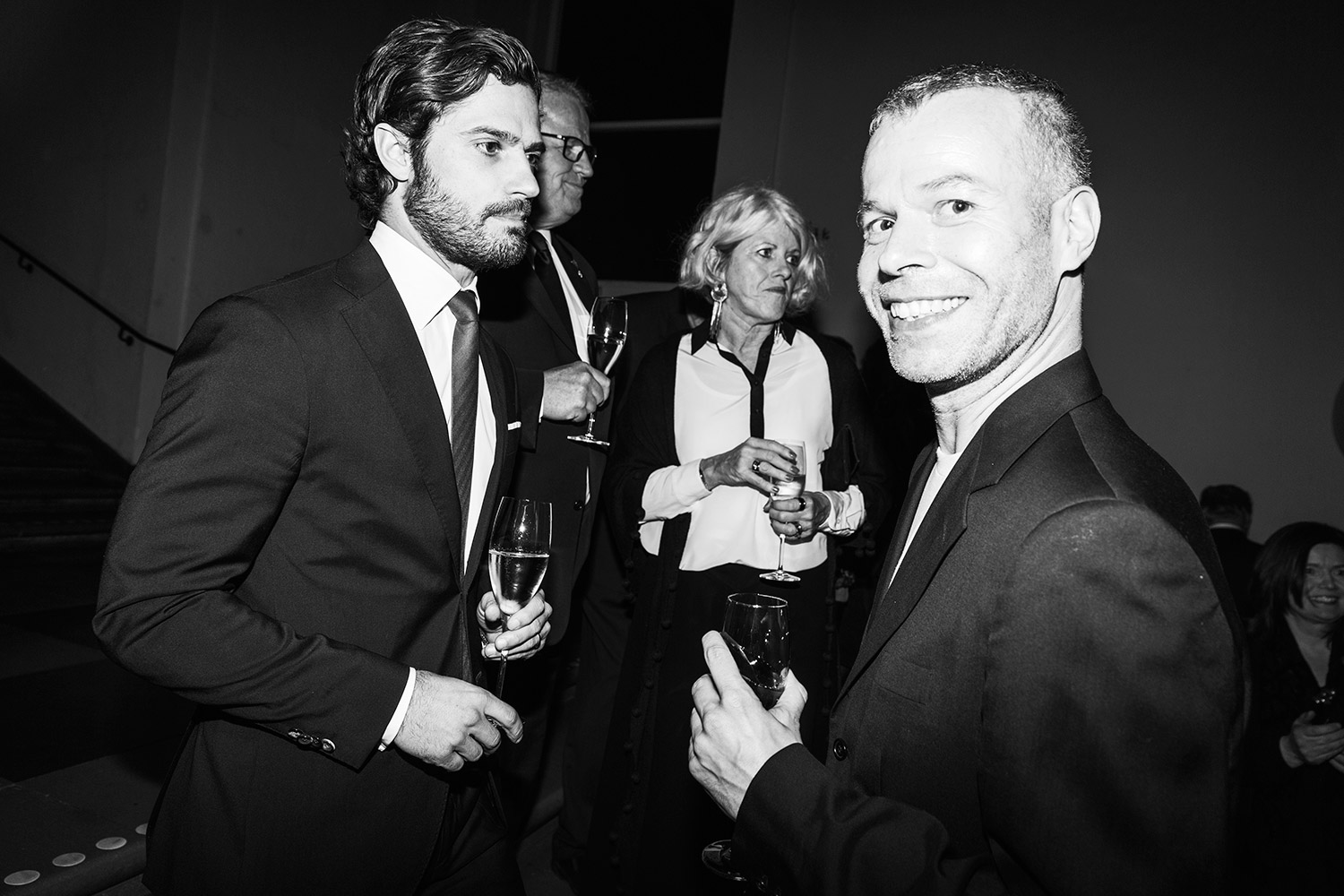 HRH Prince Carl Philip & Wolfgang Tillmans Photo: Emma Svensson/Hasselblad Foundation