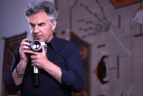 Ernst Haas In his New York City studio